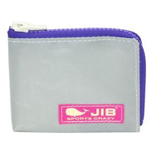 JIB マイクロクラッチ MC12 グレー×パープル/ピンクタグ|tanida