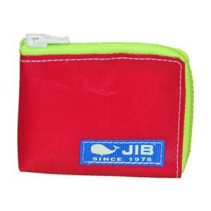 JIB マイクロクラッチ MC12 レッド×蛍光グリーン/ブルータグ|tanida