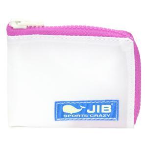 JIB マイクロクラッチ MC12 ホワイト×ピンク/ブルータグ|tanida