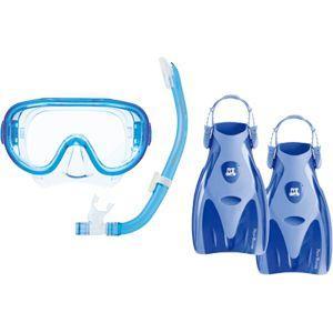 Reef Tourerリーフツアラー スノーケリング 3点セット RP3002 *旅行用/男女兼用/シリコン素材|tanida