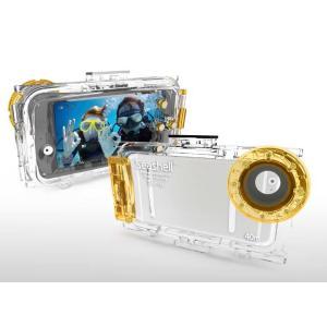 Seashell SS-i6 iPhone6用防水フォトハウジング 耐圧水深40m 注意:iPhone6plusには対応していません|tanida