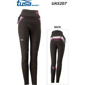 UA5207 ツサスポーツ tusasport LADIES WEAR レディースウェア ウェットロングパンツ|tanida