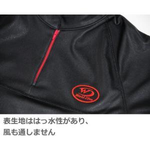 ワールドダイブ World Dive サーマルボディスムーサー プルオーバー WSB2P 男女兼用 XS-XLサイズ ブラック|tanida|04