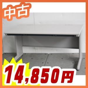 平デスク 平机 引出し3つ付 W1400 中古 イトーキ製:CZデスクシリーズ CZN-147HA-WE|tanimachi008