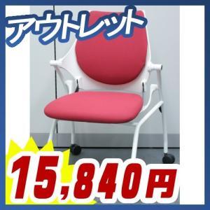 ミーティングチェア ネスタブルチェア クロスバック 展示品 アウトレット イトーキ製:イプサチェアシリーズ KLD-120GSW9W9M4|tanimachi008
