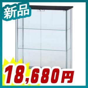 ガラスディスプレイケース 3段 ワイド 脚付 ガラスコレクションケース ディスプレイラック 展示 フィギュア ショーケース 新品 送料無料 tanimachi008
