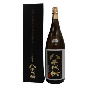 限定八千代伝黒 タンクNo.110 総裁賞代表受賞酒 1.8L化粧箱入り|tanimotoya