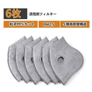 マスクフィルター フィルター  活性炭フィルター 交換用フィルター 有害物質濾過