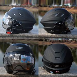 商品名:ZEUS 125bジェットヘルメット  Fサイズ:58cm-60cm  材質:ABS樹脂  ...