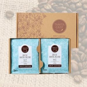 タニタ タニタコーヒー カフェインレスモカブレンド ドリップバッグ12個入りセット  |tanitaonline