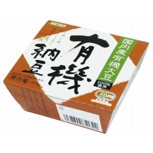 ムソー 国産有機大豆使用・有機納豆 40g