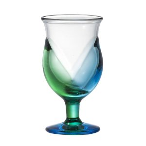復刻版 青森 台付グラス:北洋硝子|tanken