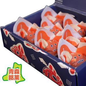 金魚ねぶた 8個入 (武内製飴所:金魚ねぶた玉ようかん・ひとくち林檎羊羹・青森銘菓)|tanken