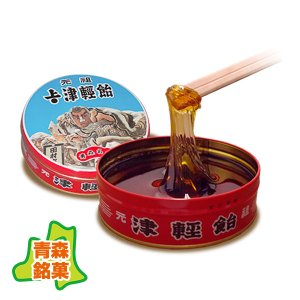 津軽飴 缶入 小(450g) :武内製飴所・良質の澱粉で作った水飴・無添加・砂糖不使用|tanken