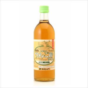 樽熟ハチミツ入りりんご酢ライト 500mL(カネショウ:気になる甘さをおさえ、適度な酸味でおいしくなりました。)|tanken
