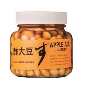 酢大豆(黒りんご酢漬)360g(カネショウ・大豆・酢大豆・青森県産りんごの黒りんご酢)|tanken