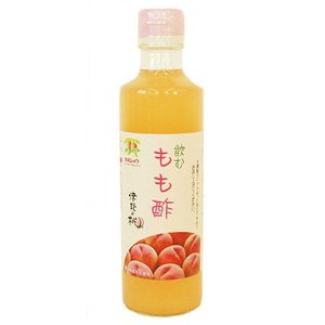 津軽のフツーツビネガーもも酢(飲むもも酢) 275mL(カネショウ:青森県産桃と、もも果汁)|tanken
