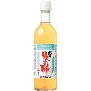濁りりんご酢「細雪」500mL(カネショウ:蔵伝承酢酸菌・白神酵母・青森県産リンゴ)|tanken