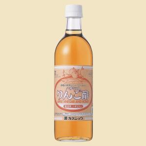 ハチミツ入りりんご酢 500ml(カネショウ:桶造りリンゴ酢に精製ハチミツを加えた飲みやすい林檎酢)