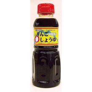 りんごバーモント醤油 300mL (カネショウ:本醸造、しょうゆ、リンゴ酢、りんご果汁、ハチミツ)|tanken