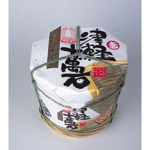 津軽十万石味噌(白) 4kg贈答用木樽入・化粧箱入(カネショウ)|tanken