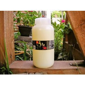 十和田八幡平産馬油100%使用【うまの油 1,000mL(黒ラベル)】お徳用・業務用ボトル:無色・低臭タイプ・ビタミンE配合|tanken