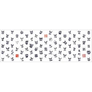 竹浪比呂央ねぶた手拭い「面・面・面」・・・:甲州屋 【ゆうパケット発送可】:青森ねぶた:ねぶたグッズ|tanken