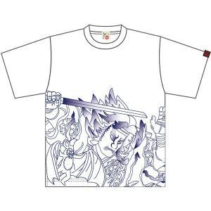 ねぶたTシャツ 狒々退治:手塚茂樹・甲州屋 :ねぶたグッズ|tanken