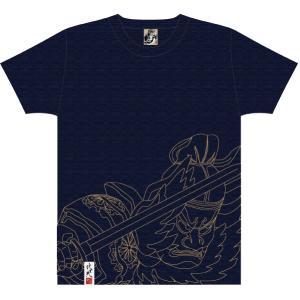 竹浪比呂央ねぶたTシャツ 田村麿−たむらまろ−:甲州屋 :ねぶたグッズ|tanken