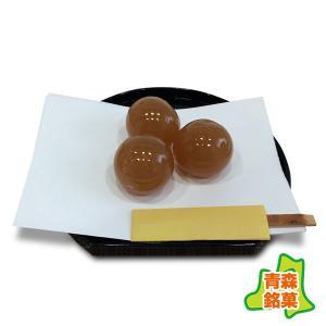 りんごの実 12個・箱入り(武内製飴所:青森県産りんごのひとくち羊羹)|tanken