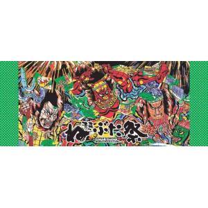【新商品】竹浪比呂央ねぶたフェイスタオル 紀朝雄:甲州屋 【ゆうパケット発送可】:ねぶたグッズ|tanken