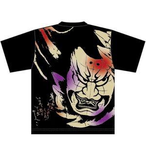 【新商品】竹浪比呂央ねぶたTシャツ  藤原千方:甲州屋・ねぶたグッズ|tanken