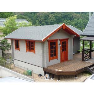 ●ルースB(ログ厚75mm)水廻りが付いて別荘、コテージに最...