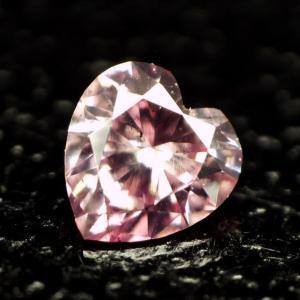 ピンクダイヤモンドルース 0.039ct FANCY INTENSE PURPLISH PINK SI2 ハートシェイプ tanodiamond 02