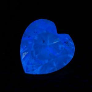 ピンクダイヤモンドルース 0.039ct FANCY INTENSE PURPLISH PINK SI2 ハートシェイプ tanodiamond 03