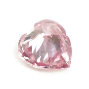 ピンクダイヤモンドルース 0.039ct FANCY INTENSE PURPLISH PINK SI2 ハートシェイプ tanodiamond 05