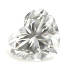 ダイヤモンド ルース 0.087ct Dカラー VVS2 ハートシェイプ