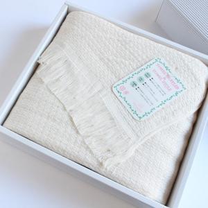今治タオル タオル ストール なみ ギフトセット Imabari Towel Towel Stole Nami GiftSet アイボリー|tanokichi