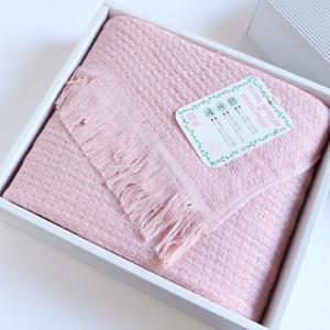 今治タオル タオル ストール なみ ギフトセット Imabari Towel Towel Stole Nami GiftSet ピンク|tanokichi