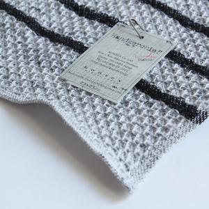 今治タオル コンテックス ハンカチーフ Imabari Towel Kontex Handkerchief ワッフル チャコールグレー tanokichi 03
