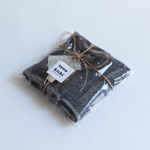 今治タオル コンテックス ハンカチーフ Imabari Towel Kontex Handkerchief ワッフル チャコールグレー tanokichi 05
