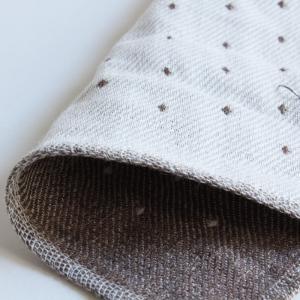 今治タオル コンテックス ハンカチーフ Imabari Towel Kontex Handkerchief ピンドット ブラウン|tanokichi|02