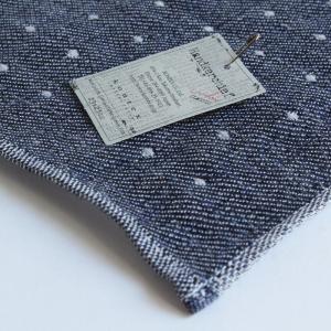 今治タオル コンテックス ハンカチーフ Imabari Towel Kontex Handkerchief ピンドット ネイビー|tanokichi|03