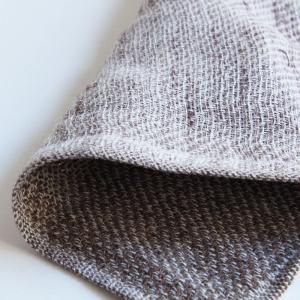 今治タオル コンテックス ハンカチーフ Imabari Towel Kontex Handkerchief リネンツィード ブラウン tanokichi 02