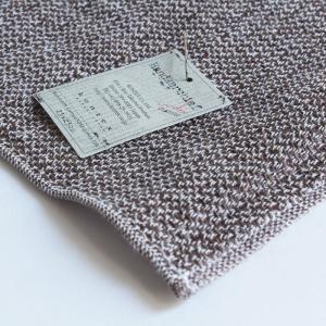 今治タオル コンテックス ハンカチーフ Imabari Towel Kontex Handkerchief リネンツィード ブラウン tanokichi 03