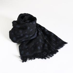 今治タオル コットンマフラー Imabari Towel Cotton Muffler Bambi バンビ ブラック tanokichi