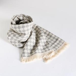 今治タオル コットンマフラー Imabari Towel Cotton Muffler Cloud クラウド グレー tanokichi