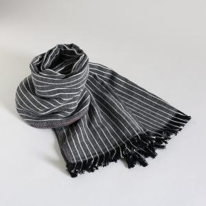 今治タオル コットンマフラー Imabari Towel Cotton Muffler Jean ジーン ブラック tanokichi