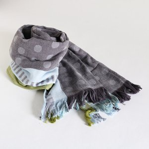 今治タオル コットンマフラー Imabari Towel Cotton Muffler Mix みっくす グレー tanokichi