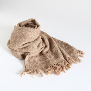 今治タオル コットンマフラー Imabari Towel Cotton Muffler Nami なみ ブラウン tanokichi
